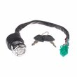6-Wire 1-Connector Lock Switch with Keys for Baja Wilderness 90 (WD90), 90B (WD90B), & Canyon 90 (CN90) ATVs - VIN Prefix LE8S
