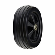 "6"" x 2"" Black Caster Wheel  for the Golden Technologies Compass M Series and Alante Series Power Chairs"