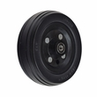 "6""x2"" All-Black Rear Caster Wheel Assembly for Jazzy Select, Jazzy Select Elite, and Pride TSS 300"