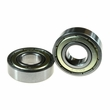 6001ZZ (6001Z) Shielded Scooter Wheel Bearings (Set of 2)
