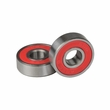 608-2RS (608RS) ABEC-9 Sealed Scooter Wheel Bearings with Red Seal (Set of 2)