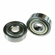 6200ZZ (6200Z) Shielded Scooter Wheel Bearings (Set of 2)