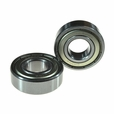 6202ZZ (6202Z) Shielded Scooter & ATV Bearings (Set of 2)