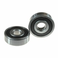 638-2RS (638RS) Sealed Power Chair Caster Wheel Bearings (Set of 2)