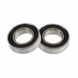 6902-2RS Sealed Power Chair Caster Stem Bearings (Set of 2)