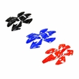 70cc Dirt Bike Fender & Body Panel Set (Multiple Colors)