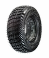 "8"" X 2.50"" Black Low Profile Foam-Filled Mobility Tire with Durotrap C9267 Tread (Primo)"