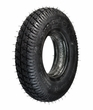 "8""x2"" (200x50) Black Foam-Filled Mobility Tire with Durotrap Knobby Tread (Primo)"
