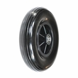 "8""x2"" (200x50) Black Front Caster Wheel Assembly for Drive & Jazzy Power Chairs"