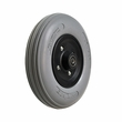 "8""x2"" (200x50) Caster Wheel Assembly with Solid Urethane Tire for the Hoveround� MPV4�, MPV5� and Teknique� FWD"