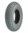 "8""x2"" (200x50) Foam-Filled Mobility Tire with Rebel C-968G Knobby Tread (Primo)"