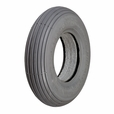 "8""x2"" (200x50) Heavy Duty Foam-Filled Mobility Tire with Ribbed Tread"