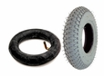 "8""x2"" (200x50) Mobility Tire and Tube Set with Knobby Tread"