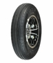 """8""""x2"""" (200x50) Solid Rear Tire Wheel Assembly with Black and Chrome Rim for Drive Phantom, Phoenix 3, and Phoenix 4 Scooters"""