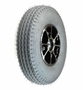 "9""x3"" (2.80/2.50-4) Flat-Free Rear Wheel Assembly for the Pride Rally (SC150/SC151/SC155)"