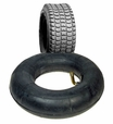 9x3.50-4 Mobility Tire and Inner Tube Set with Knobby Tread