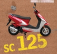 Baja Sun City 125 (SC125) 125cc Scooter Parts