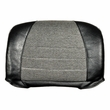 "Black/Gray (Charcoal) Vinyl/Fabric Seat Back Cover for Go-Go with 18""W Seat Upgrade, as well as Pride Sonic and Revo"
