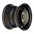 Black Rear Rim for Baja Mini Bikes MB165 & MB200