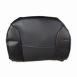 Black Vinyl Seat Back Cover for the Invacare Leo
