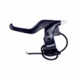 Brake Lever with Wires - Black Plastic (Left Side)