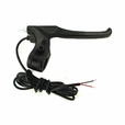 Black Plastic Right Side Brake Lever with Wires