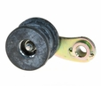 "Chain Tensioner with Large Rubber Roller & 2-5/8"" Arm for the Baja Mini Bike MB165 & MB200 (Baja Heat, Mini Baja, Baja Warrior)"