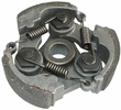 Clutch Pad Assembly with 3 Shoes