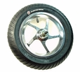 "Currie 12-1/2"" x 3.0"" Complete Front Wheel Assembly (5 Spoke)"