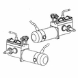 Drive Motor Assembly for the ActiveCare Wildcat and Wildcat 450 Power Chairs