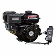 Electric Start 196cc 6.5 Hp 168F Honda GX200 Clone Go-Kart & Mini Bike Engine (Alvey)