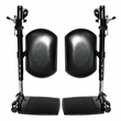 Elevating Leg Rests with Calf Pad for Jazzy and Jet Power Chairs (Set of 2)