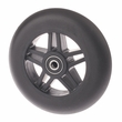 Front Anti-tip Wheel for Jazzy, Jet, and Quantum Power Chairs (Black Urethane)