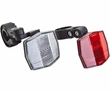 Front & Rear Reflectors with Mounting Brackets for Scooters & Bikes