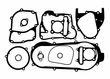 Gasket Set for GY6B Short Case Engines with 170cc and 180cc Big Bore Kits