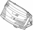 Headlight Assembly for Honda Helix CN250 (1998-2007 Models) (OEM)