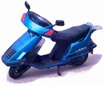 Honda Elite 125 (CH125) & Elite 150 (CH150) Scooter Parts