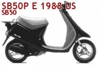 Honda Elite E (SB50P) Scooter Parts