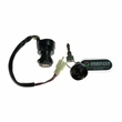 3 Wire Ignition Key Switch for ATVs & Dirt Bikes (Threaded Shaft Mount)