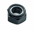 M6-1.0 Black Lock Nut (NUTNYLK1019)