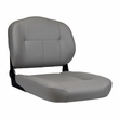 Medium-Back Deluxe Contour Vinyl Seat Assembly for Pride Scooters, Jazzy and Jet Power Chairs