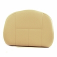 Medium-Back Deluxe Contour Vinyl Seat Back for Pride Scooters, Jazzy and Jet Power Chairs