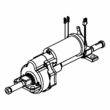 Motor, Brake, and Transaxle Assembly for the Go-Go LX with CTS Suspension (S50LX/S54LX)