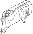 Muffler for Honda Helix CN250 (1986-2001 Models) (OEM)