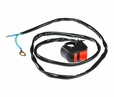 On/Off Switch (Kill Switch) with Wires for the Baja Doodle Bug DB30 & Baja Mini Bike MB165 & MB200 (Baja Heat, Mini Baja, Baja Warrior)