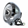 Plastic Headlight Assembly for Baja Mini Bike MB165 (Baja Heat, Mini Baja, Baja Warrior)