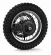 Rear Wheel Assembly with Wire Spokes for the Razor MX350 (Versions 9-22) and MX400 (Versions 1-18)