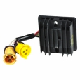 Rectifier (Voltage Regulator) with 2 Yellow Connectors for Baja Wilderness Trail 250 (WD250) ATV - VIN Prefix LAPS