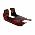 Red Front Shroud Assembly for the 3-Wheel Pride Victory 10 (SC610)