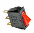 Red On/Off Switch for Razor Crazy Cart, Dune Buggy, E100, E200, E300, E500S, eSpark, Mini Chopper, Ground Force, Ground Force Drifter, and Pocket Rocket